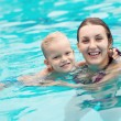 Healthy swimmers — Stock Photo #18791557