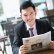 Business reader — Stock Photo #18793277