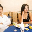 Troubled date — Stockfoto