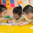 Stock Photo: Children drawing