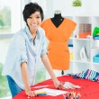 Asian designer - Stock Photo