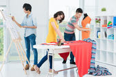 Clothes making — Stock Photo