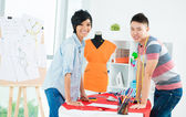 Asian young designer — Stock Photo