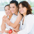 Generations of an asian family — Stock Photo #19496685