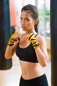 Ready to punch — Stock Photo