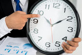 Time is up! — Stock Photo
