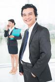 Ambitious entrepreneur — Stock Photo