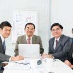 Happy business team — Stock Photo #19985645