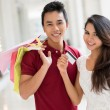 We are doing the shopping! — Stock Photo