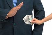 No bribe! — Stock Photo