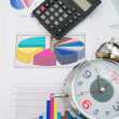 Business objects and papers - Stock Photo