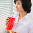 Fast-food lunch - Stock Photo