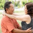 Senior romance — Stock Photo #21564853