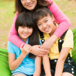 Family portrait — Stockfoto #21565555