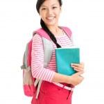 Счастливый ученика — Стоковое фото