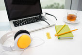 Colorful office supplies — Stock Photo