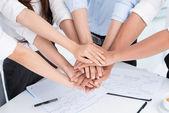 Vriendelijke team — Stockfoto