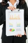 Business diagram — Stock Photo