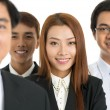 Young business team — Foto de Stock
