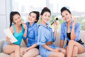 Skönhet flickor — Stockfoto