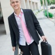 Carefree business - Stock Photo