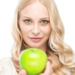 Take this apple! — Stock Photo