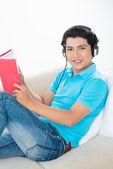 Audio book — Foto de Stock