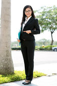 Strict business lady — Foto de Stock