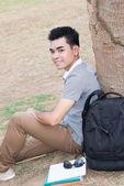 Happy student — Stock Photo