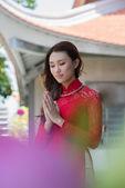 Buddhist ritual — Stock Photo