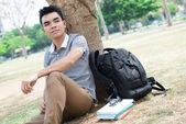Modern student — Stock Photo