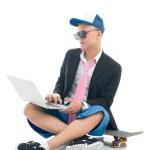 Skater guy — Stock Photo #24700435