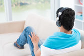 Music listener — Stock Photo