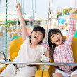 Royalty-Free Stock Photo: On swings