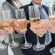 Companys celebration - Stock Photo