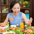 So much meal! — Stock Photo