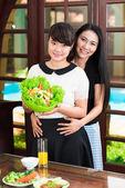 Sorelle asiatiche — Foto Stock