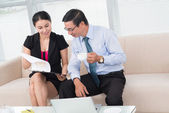 Financial advising — Stock Photo