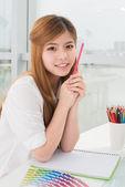 Creative student — Stock Photo