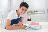 Doing homework — Stock Photo