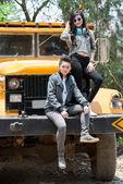 若いトラック運転手 — ストック写真