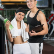 Gym frequenters - Stock Photo