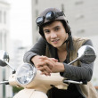 Cool rider — Stock Photo
