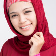 Muslim beauty — Stock Photo