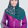 Elegant muslim girl — Stock Photo