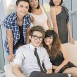 Friend's team — Stock Photo