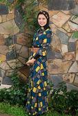 Belleza musulmana en abaya — Foto de Stock