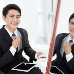 Elegant businessman — Stock Photo