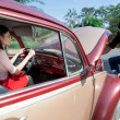 Stockfoto: Problems with cars motor
