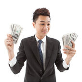 So much money! — Stock Photo